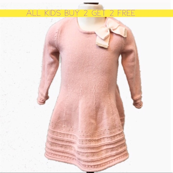 48ba37811e Catherine Malandrino Other - Mauve Gold sweater dress with bow